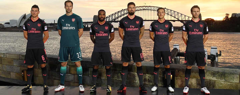 New Arsenal London 2017/18 Shirts