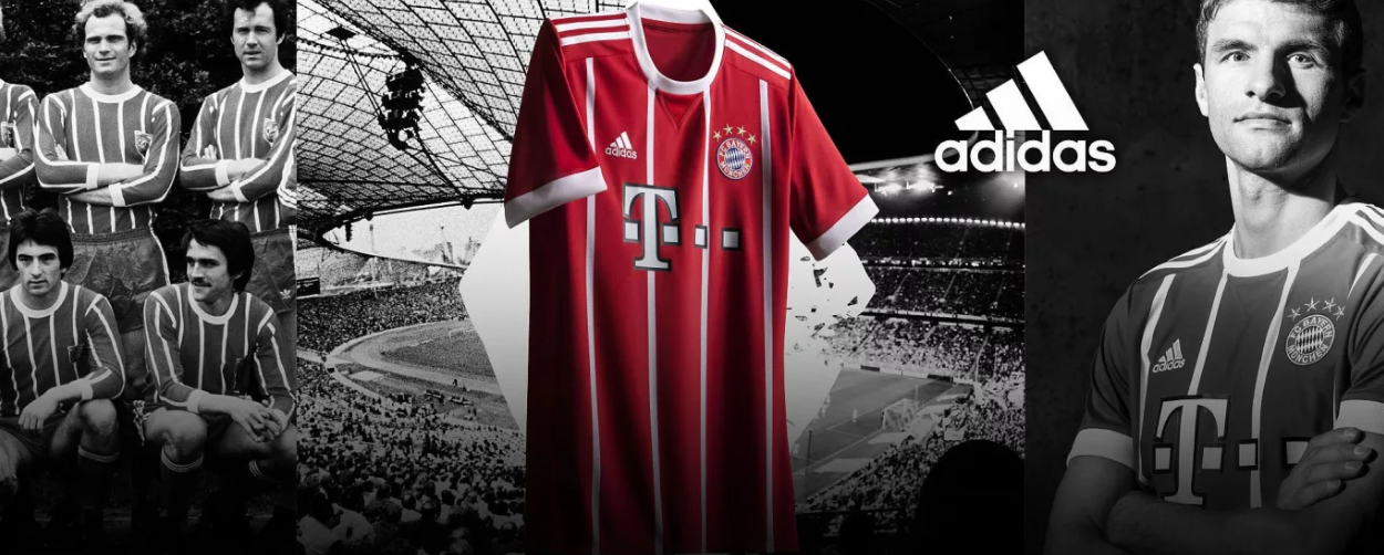 New Bayern Munich 2017/18 Shirts