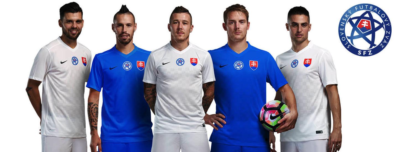 Slovakia Nike Football Shirt