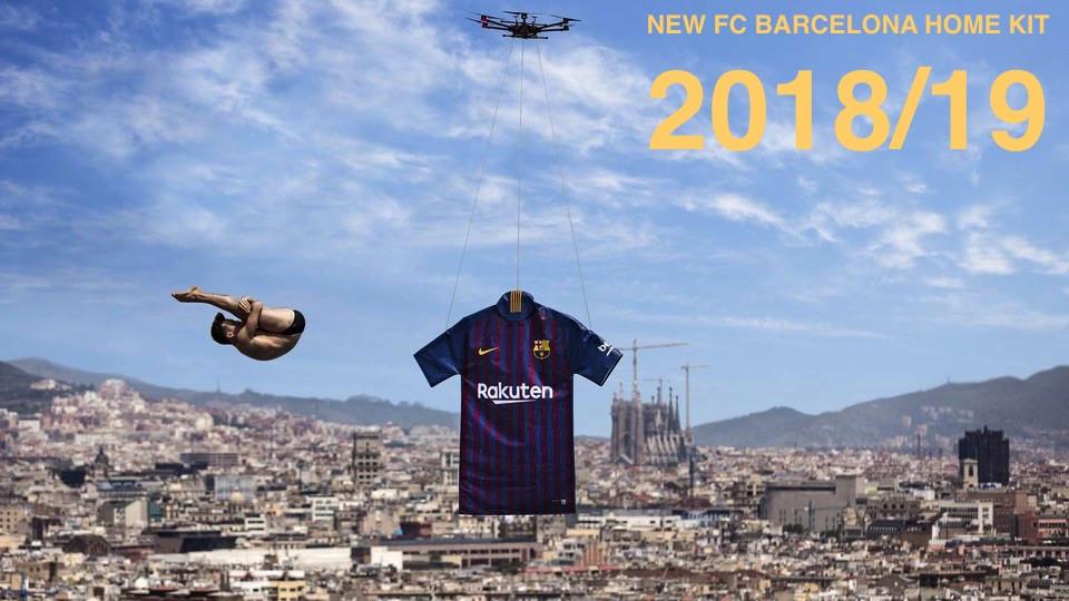 New FC Barcelona 2018/19 Shirt