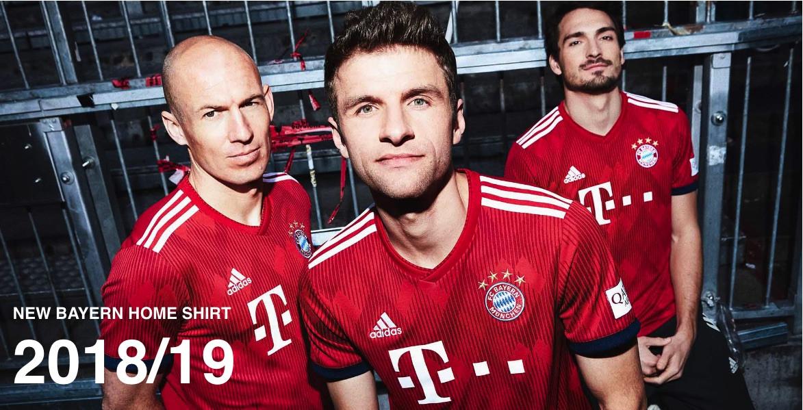 New Bayern Munich 2018/18 Shirt